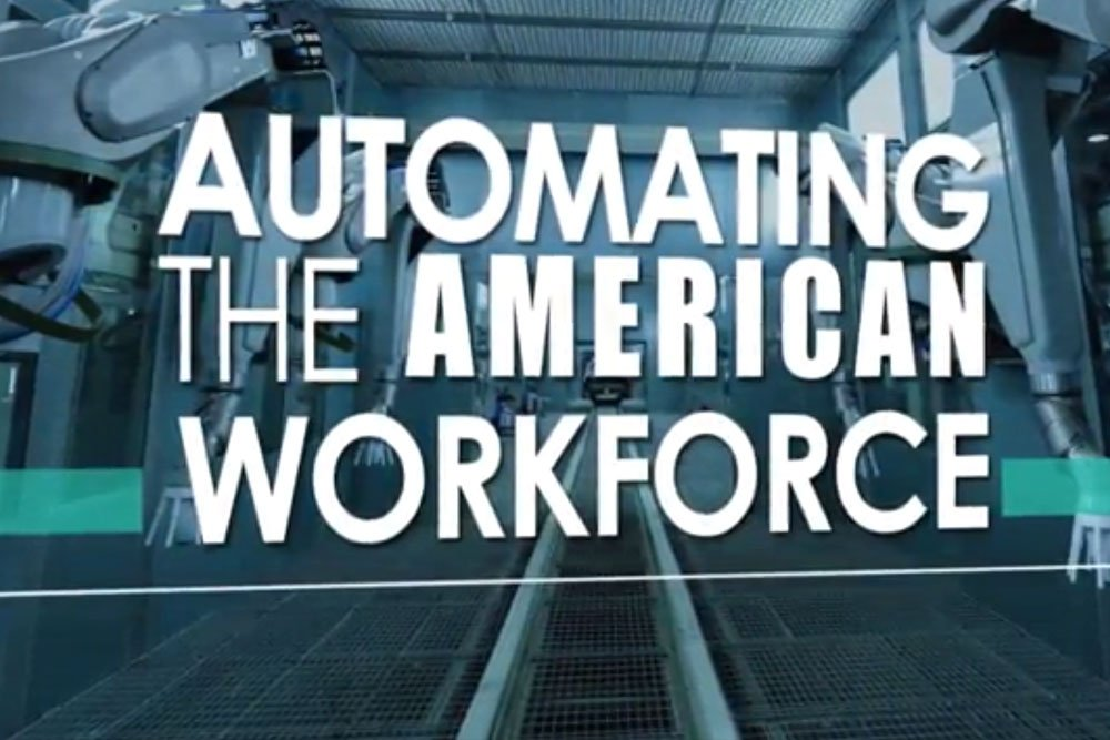 Cover image for the video showing the impact of automating in the workforce